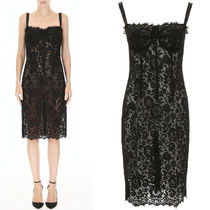 18-19AW DG1748 FLORAL LACE LINGERIE DRESS