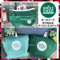 Whole Foods Market Take Out Tote 折り畳みナイロン エコバッグ