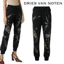 【18AW】★Dries Van Noten★high rise track trousers