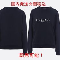 GIVENCHY★レディス ヴィンテージロゴ スウェット送関込