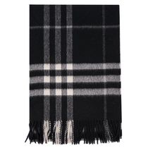 BURBERRY マフラー CLASSIC CHECK CASHMERE  18aw4030500blkc