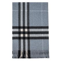 BURBERRY マフラー CLASSIC CHECK CASHMERE 18aw3994481dble