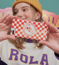 rolarola★韓国人気 CHECK PIZZA PHONE CASE PC-18503