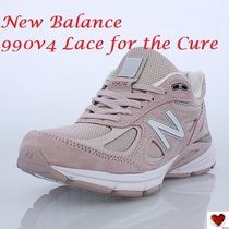 Love it  New Balance 990v4 Lace for the Cure
