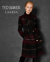 【TED BAKER】 SKAALET  チェック ロングコート