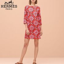 【pre-fall 2018】HERMES*エルメス*Eperon d'or*ワンピース