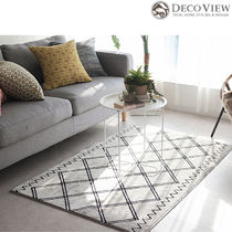 DECO VIEW(デコヴュー)★Modern Low Soft Rug - 150x100