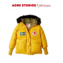 ACNE × Fjallraven Collection ダウンジャケット イエロー