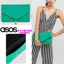 ASOS DESIGN tassel clutch bag♪