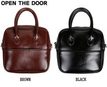 【OPEN THE DOOR】classic mood 2way bag★2色