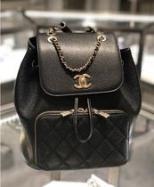 I AM BACK★2018F/W CHANEL 再入荷★Business infinity backpack