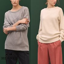 【pre-fall 2018】HERMES*エルメス*Boatneck sweater*セーター