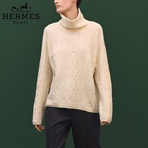 【pre-fall 2018】HERMES*エルメス*High neck sweater*セーター