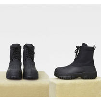 VIPセール!関税込【CELINE】Outdoor lace-up nylon rubber boots