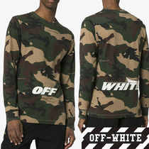 2018 AW 新作☆OFF-WHITE カモフラプリント ロングT-shirts
