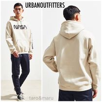 Urban Outfitters*NASAプリントパーカースウェットシャツ*Taupe