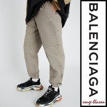 【国内発送】Balenciaga パンツ Checked shell jogging bottoms