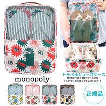 monopoly(モノポリー) トラベルポーチ 【即納・送料無料】MERRYGRIN SHOES POUCH ver.2 トラベルシュー