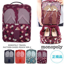 monopoly(モノポリー) トラベルポーチ 【即納・送料無料】PATTERN SHOES POUCH VER.2 トラベルシューズ