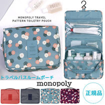 monopoly(モノポリー) トラベルポーチ 【即納・送料無料】PATTERN TOILETRY POUCH トラベルポーチ