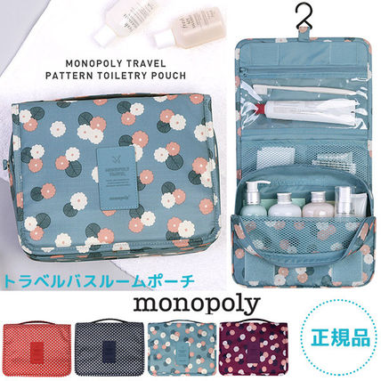 monopoly トラベルポーチ 【即納・送料無料】PATTERN TOILETRY POUCH トラベルポーチ