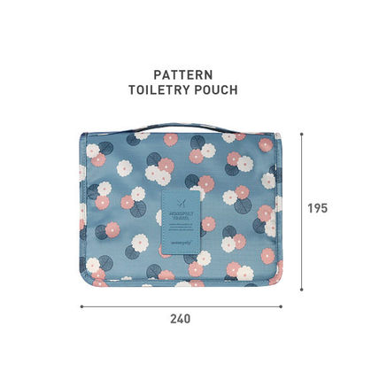 monopoly トラベルポーチ 【即納・送料無料】PATTERN TOILETRY POUCH トラベルポーチ(4)