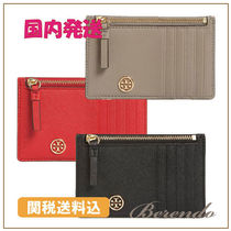 国内発送◆Tory Burch Robinson Leather Card Case カードケース
