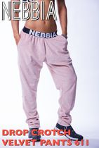 【送料込】NEBBIA DROP CROTCH VELVET PANTS 611 - salmon