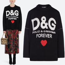 18-19AW DG1765 D&G FOREVER CASHMERE SWEATER