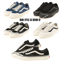 VANS★STYLE 36 DECON SF★レトロ★兼用★4色