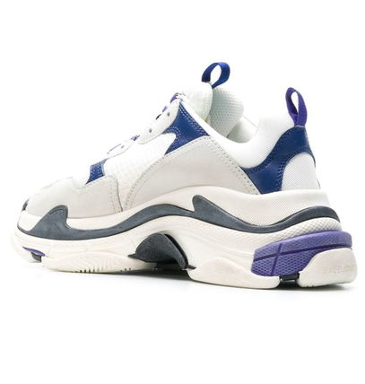 BALENCIAGA スニーカー 新色★BALENCIAGA Triple-S/White/Navy/Purple【関税込】(3)