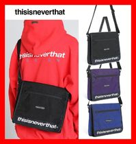 【thisisneverthat】☆CORDURA 750D NYLON MESSENGER BAG☆3色☆