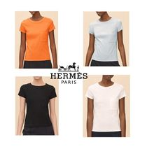 【pre-fall 2018】HERMES*エルメス*Embroidered pocket*Tシャツ