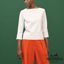 【pre-fall 2018】HERMES*エルメス*Embroidered pocket*Tシャツ2