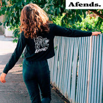 AFENDS(アフェンズ) Tシャツ・カットソー 【最短当日発送】2018AW新作☆AFENDS☆Back Alley Cats Tee