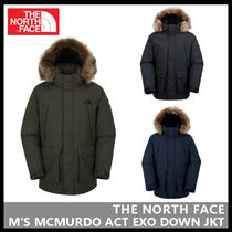 THE NORTH FACE(ザノースフェイス) ダウンジャケット 【THE NORTH FACE】M'S MCMURDO ACT EXO DOWN JKT 3色 NJ1DJ53