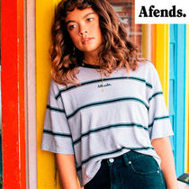 AFENDS(アフェンズ) Tシャツ・カットソー 【最短当日発送】2018AW新作☆AFENDS☆麻素材 Box Fit Tee