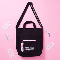 ★rolarola★クロスバック ROLA NAME TAG MINI CROSS BAG BLACK