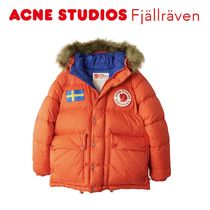 ACNE × Fjallraven Collection red ダウンジャケット レッド
