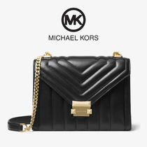 Michael Kors Whitney Large Quilted Leather Convertible bag