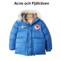 ACNE × Fjallraven Collection blue ダウンジャケット ブルー
