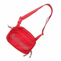 国内発送 18AW Supreme Shoulder bag 赤 Red