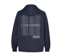 新作!Louis Vuitton ANORAK GRAPHIQUE Marine Nuit