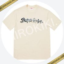 【18AW】Supreme Liquid Tee リキッド Tシャツ Logo Natural