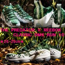 特別コラボ★THE PREDATOR × REEBOK CLASSIC DMX RUN 10★Green