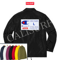 【WEEK3】AW18 Supreme x CHAMPION LABEL COACHES JACKET