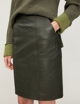 0f262f8cd0 ... REISS スカート 【海外限定】REISS スカート☆Kara leather pencil skirt(5) ...