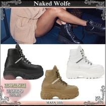 Naked Wolfe(ネイキッドウルフ) スニーカー 19AW☆送料込【Naked Wolfe】 WICKED レースアップスニーカー