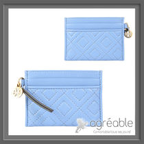 国内発送★Tory Burch★FLEMING SLIM LEATHER CARD HOLDER