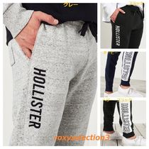 【Hollister】logo Skinny Fleece Jogger☆ジョガーパンツ☆